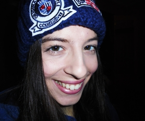 girl, i, and smile image