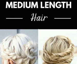 beauty, hairstyle, and updos image