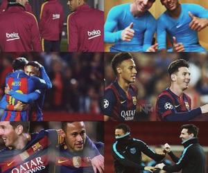 Barca, fc barcelona, and messi image