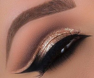 gold, loveliness, and liner image