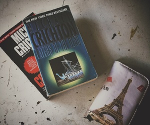 books, congo, and michael crichton image