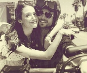 emmy rossum, justin chatwin, and shameless image