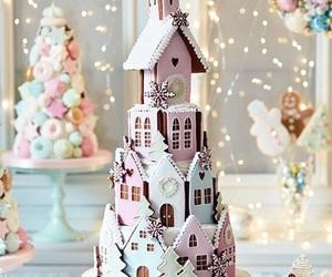 christmas, food, and cake image