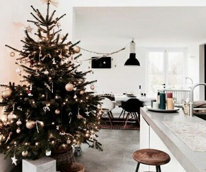 christmas, winter, and interior image