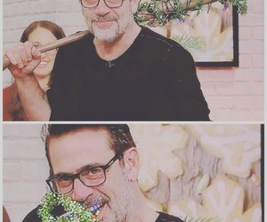 Christmas time, jeffrey dean morgan, and LUCILLE image