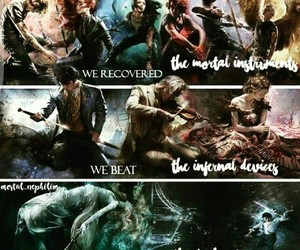 books, mortal instruments, and cassandra clare image