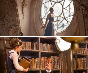 beautiful, beauty and the beast, and book image
