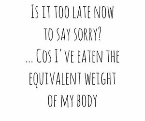 eating, lol, and quote image