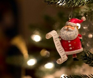 christmas, tree, and santa image