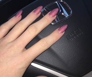 car, nails, and pretty image