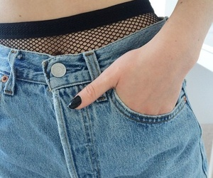 jeans, style, and tumblr image