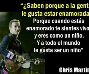 Chris Martin, coldplay, and frases image