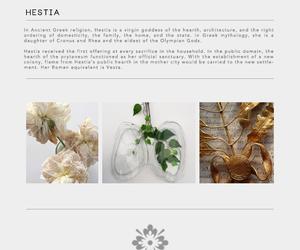 goddess, mythology, and hestia image