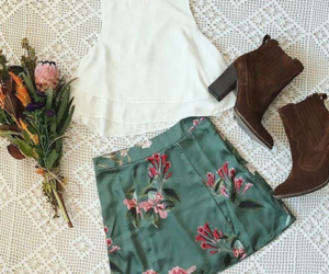 boho, chic, and fashion image