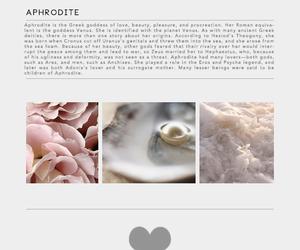 aphrodite, goddess, and mythology image