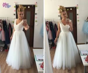beautiful, bride, and lace image