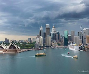 australia, Sydney, and opera house image
