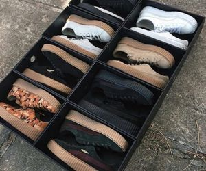 shoes, puma, and creepers image
