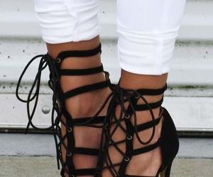 black heels, fashion, and classy image