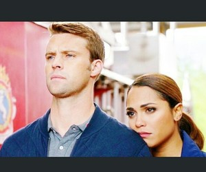 chicago fire, dawson, and gaby image