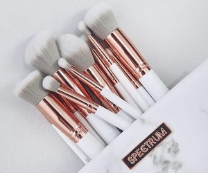 makeup, Brushes, and white image