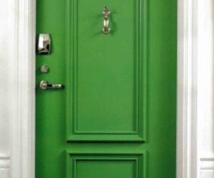 color, door, and green image