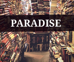book, paradise, and read image