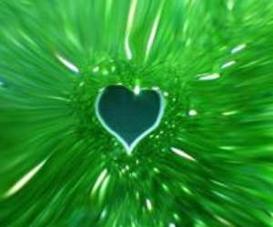 color, green, and heart image