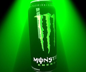 color, green, and monster energy drink image