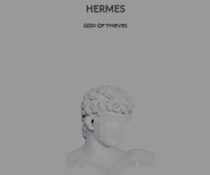 god, greek, and hermes image