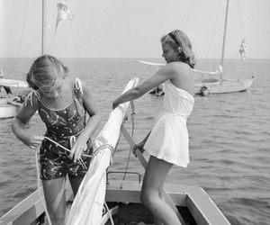 50s, girls, and summer image