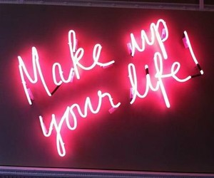neon, pink, and life image