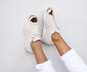 shoes, style, and adidas image