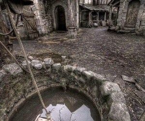 abandoned, village, and old image