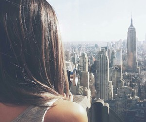 new york, nyc, and girl image
