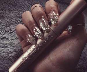 nails, makeup, and pretty image