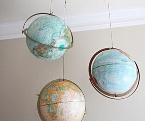 globe, world, and aesthetic image