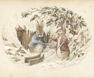 beatrix potter and rabbit image