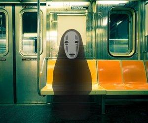 anime, train, and ghibli image