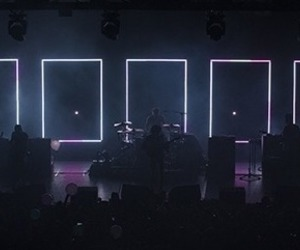 the 1975, blue, and concert image