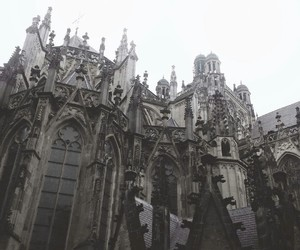 architecture, church, and goth image