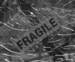 fragile, broken, and sad image