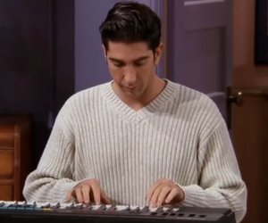 90s, David Schwimmer, and sweater image