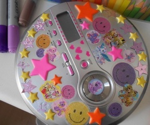 90s, mp3, and music image