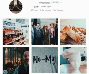 harry potter and fictional instagram image