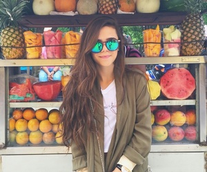 colorful, girl, and love image
