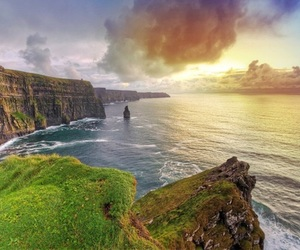 ireland and cliffs of moher image