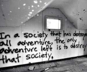 Darkness, room, and society image