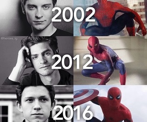 spiderman, Marvel, and movies image