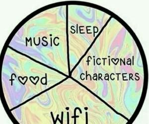 music, food, and wifi image